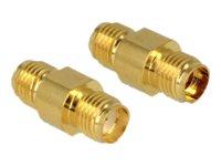 DeLOCK - Antennenadapter - SMA (W) bis SMA (W)