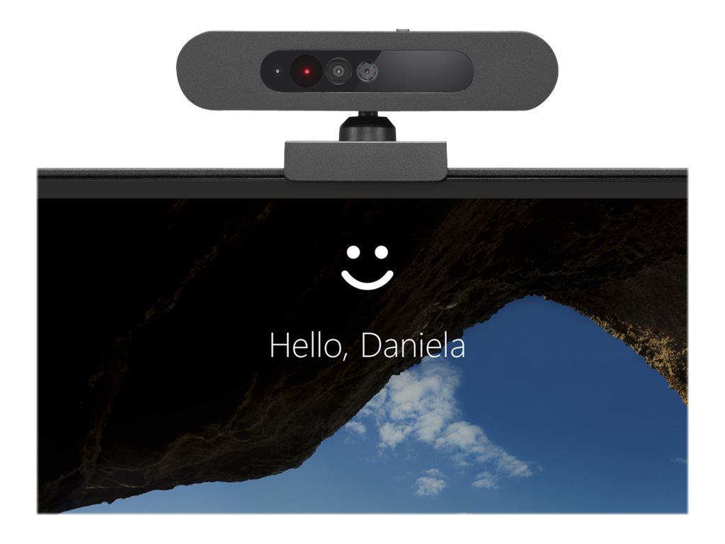 Lenovo 500 FHD Webcam - Web-Kamera - Farbe - 1920 x 1080 - 1080p - USB 2.0