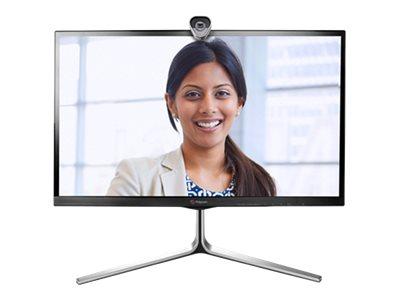 Polycom RealPresence Group Convene - Kit für Videokonferenzen - 27 Zoll - mit Polycom RealPresence Group 310-720p with EagleEye