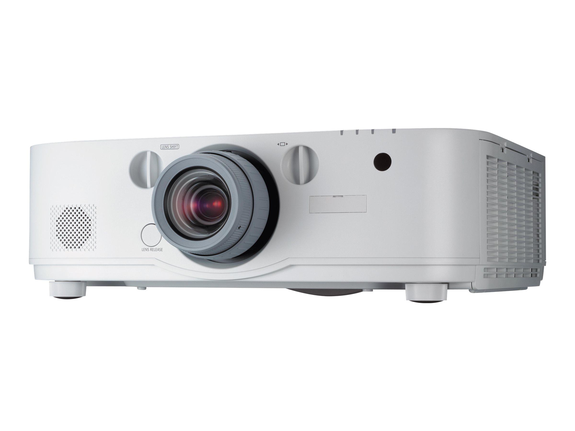 NEC PA622U - LCD-Projektor - 3D - 6200 ANSI-Lumen - WUXGA (1920 x 1200) - 16:10