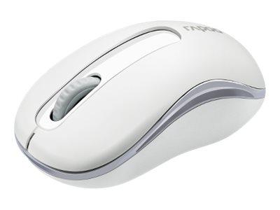 Rapoo M10 PLUS - Maus - optisch - 3 Tasten - kabellos - 2.4 GHz