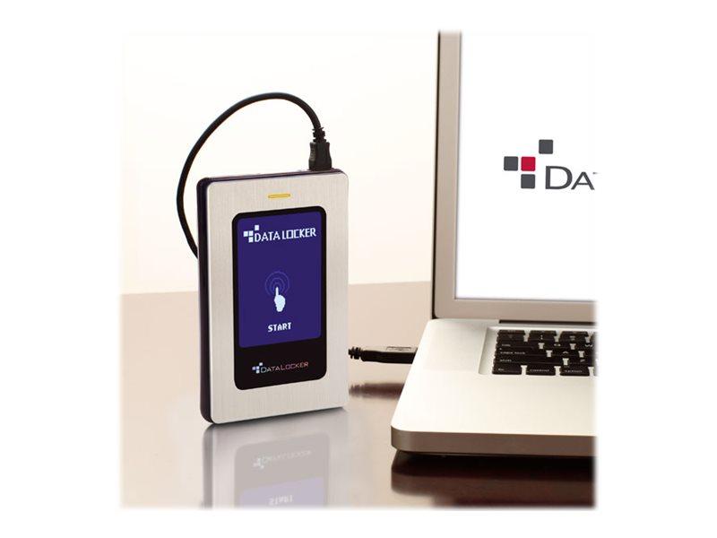 DataLocker DL3 FE (FIPS Edition) - Solid-State-Disk - verschlüsselt - 512 GB - extern (tragbar) - USB 3.0