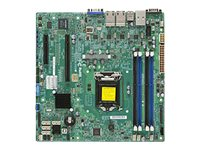 SUPERMICRO X10SLM+-LN4F - Motherboard - micro ATX - LGA1150-Sockel - C224 - USB 3.0