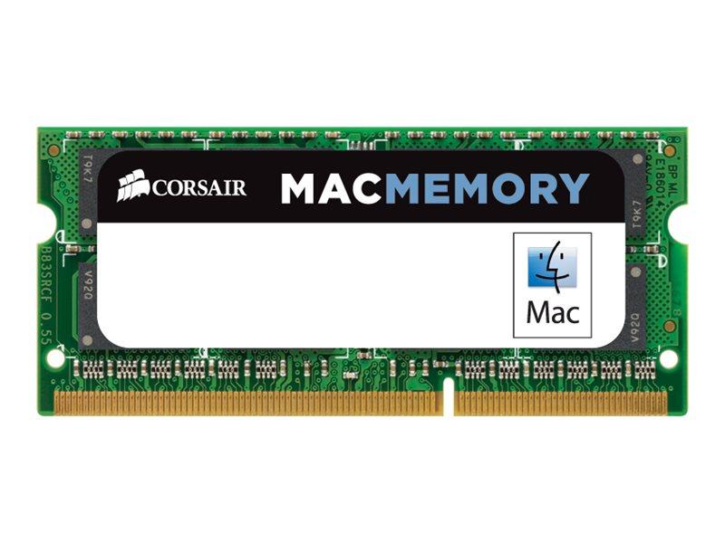 CORSAIR Mac Memory - DDR3 - 4 GB - SO DIMM 204-PIN - 1333 MHz / PC3-10666 - CL9