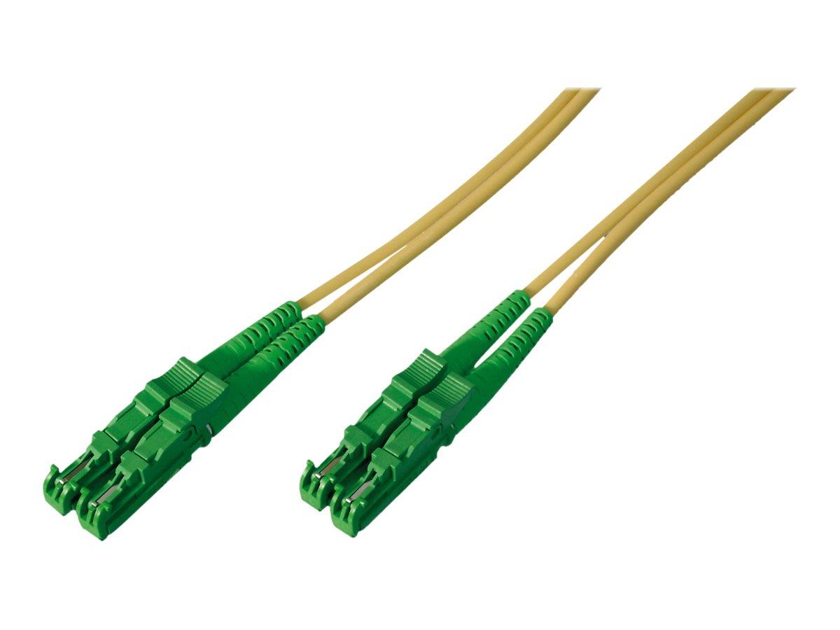 DIGITUS Professional - Patch-Kabel - E2000/APC Einzelmodus (M) bis E2000/APC Einzelmodus (M) - 30 m - Glasfaser - 9/125 Mikromet