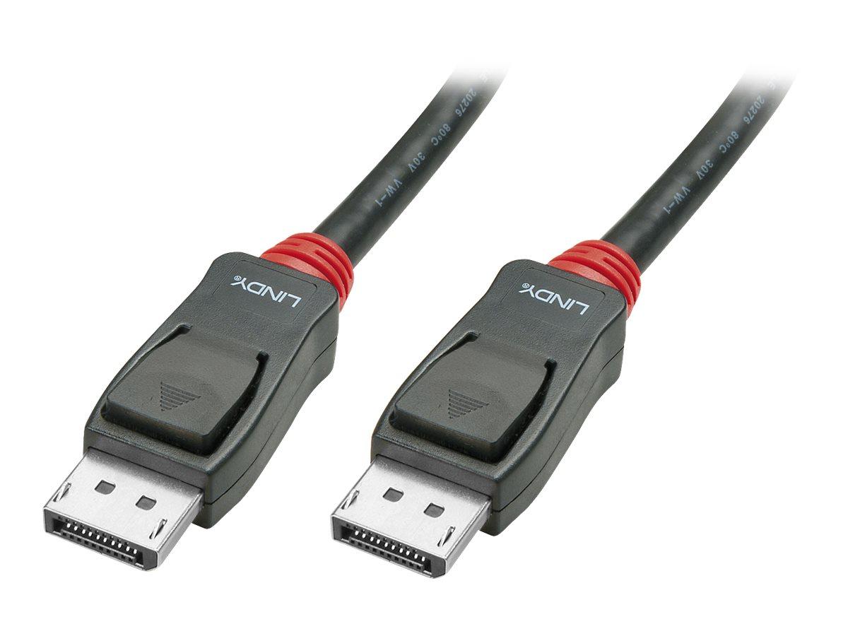 Lindy Basic - DisplayPort-Kabel - DisplayPort (M) bis DisplayPort (M) - 50 cm - 4K Unterstützung - Schwarz