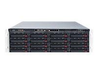 Supermicro SuperStorage Server 6038R-E1CR16H - Server - Rack-Montage - 3U - zweiweg - RAM 0 MB