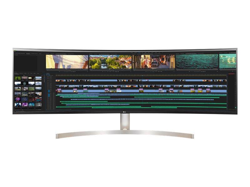 LG 49WL95C-W - LED-Monitor - gebogen - 124 cm (49