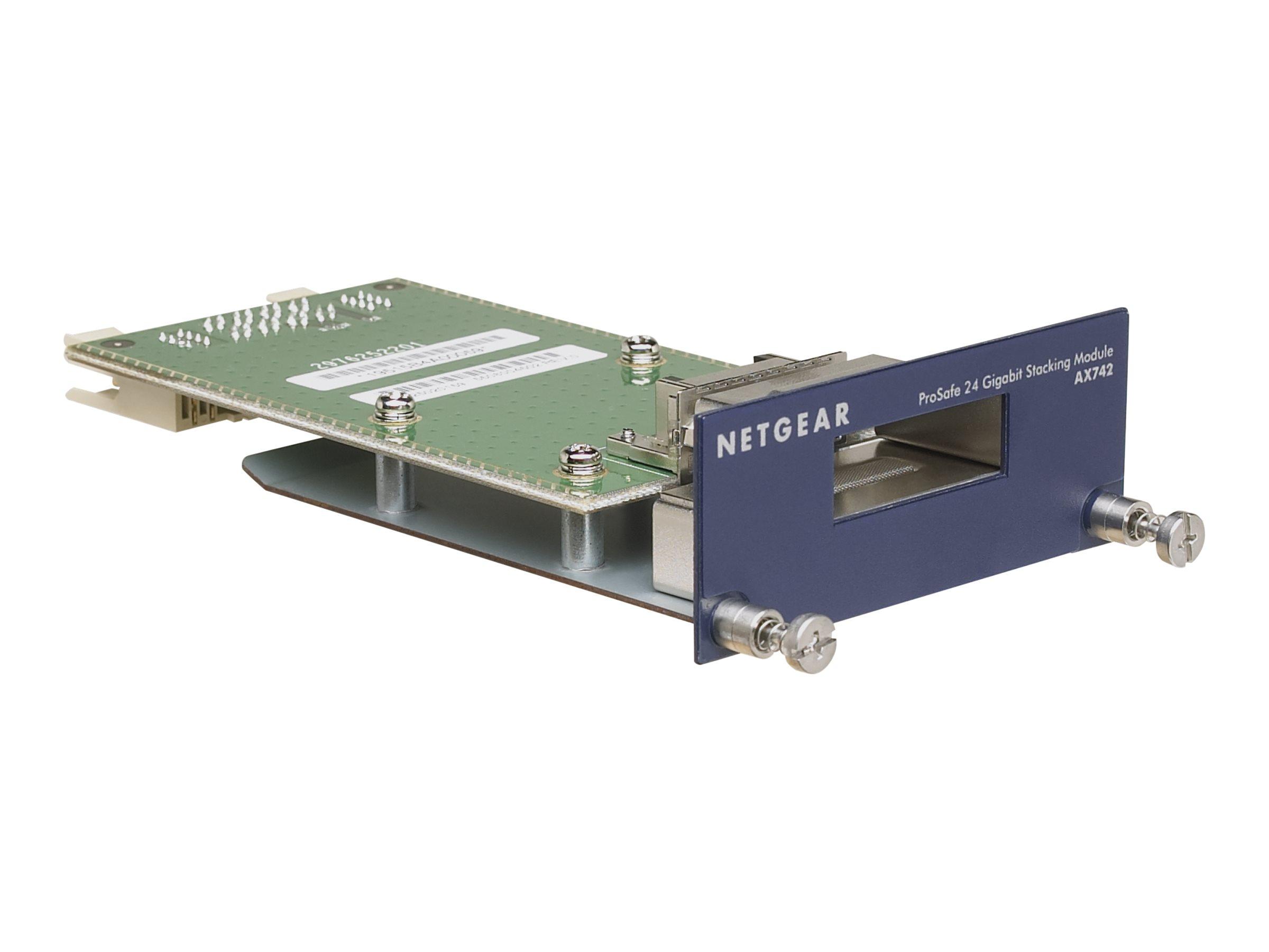 NETGEAR ProSafe AX742 - Erweiterungsmodul (Packung mit 2) - für NETGEAR GSM7228, GSM7252, GSM7328, GSM7352; Next-Gen Edge Manage