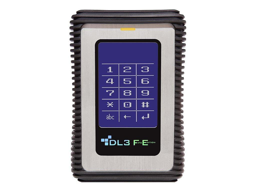 DataLocker DL3 FE - Solid-State-Disk - verschlüsselt - 4 TB - extern (tragbar) - USB 3.0