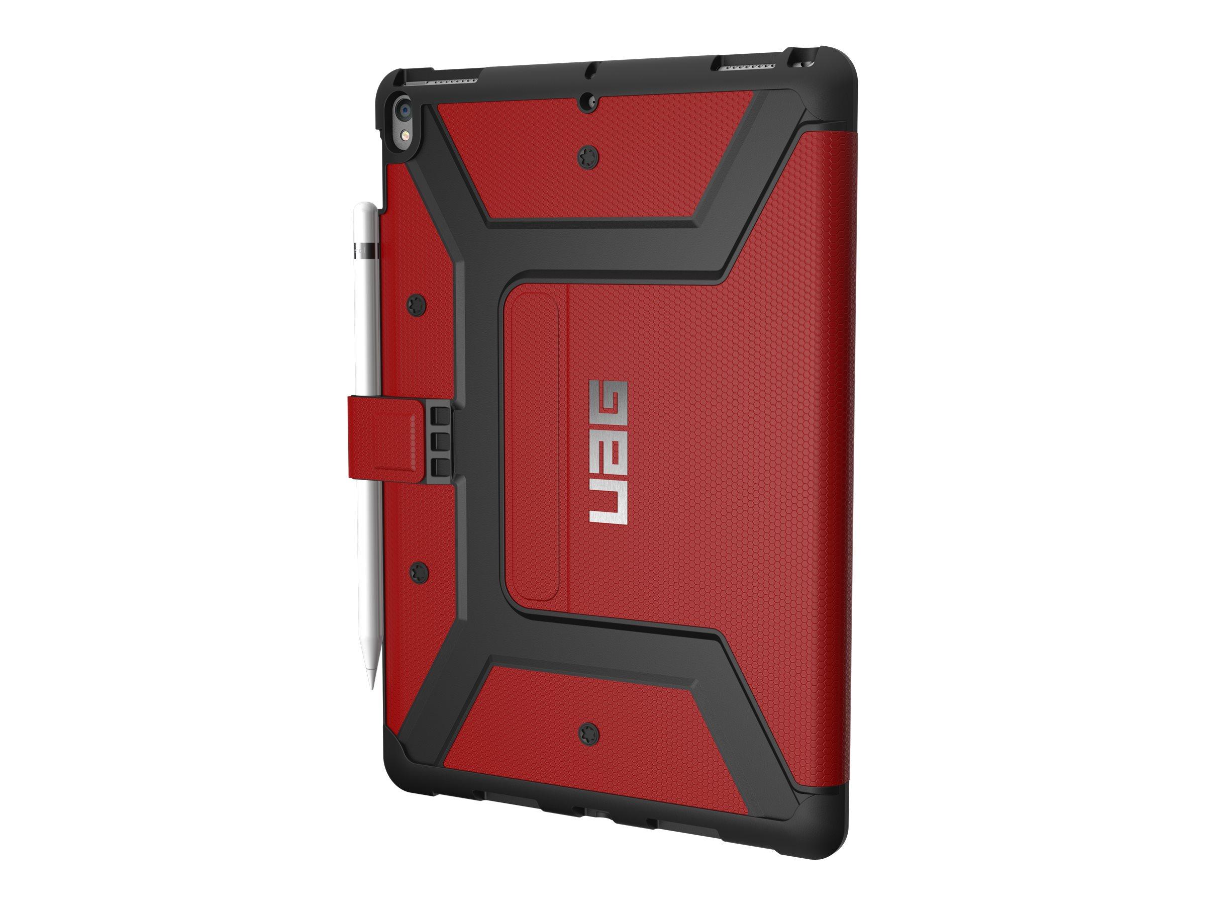UAG Rugged Case for iPad Pro 10.5-inch - Tasche für Tablet - widerstandsfähig - Magma - für Apple 10.5-inch iPad Pro