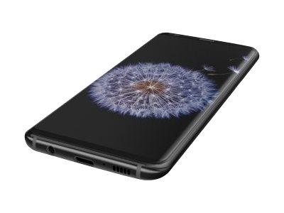 Belkin TemperedCurve - Bildschirmschutz - Schwarz - für Samsung Galaxy S9+