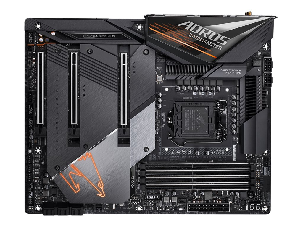 Gigabyte Z490 AORUS MASTER - 1.X - Motherboard - ATX - LGA1200-Sockel - Z490
