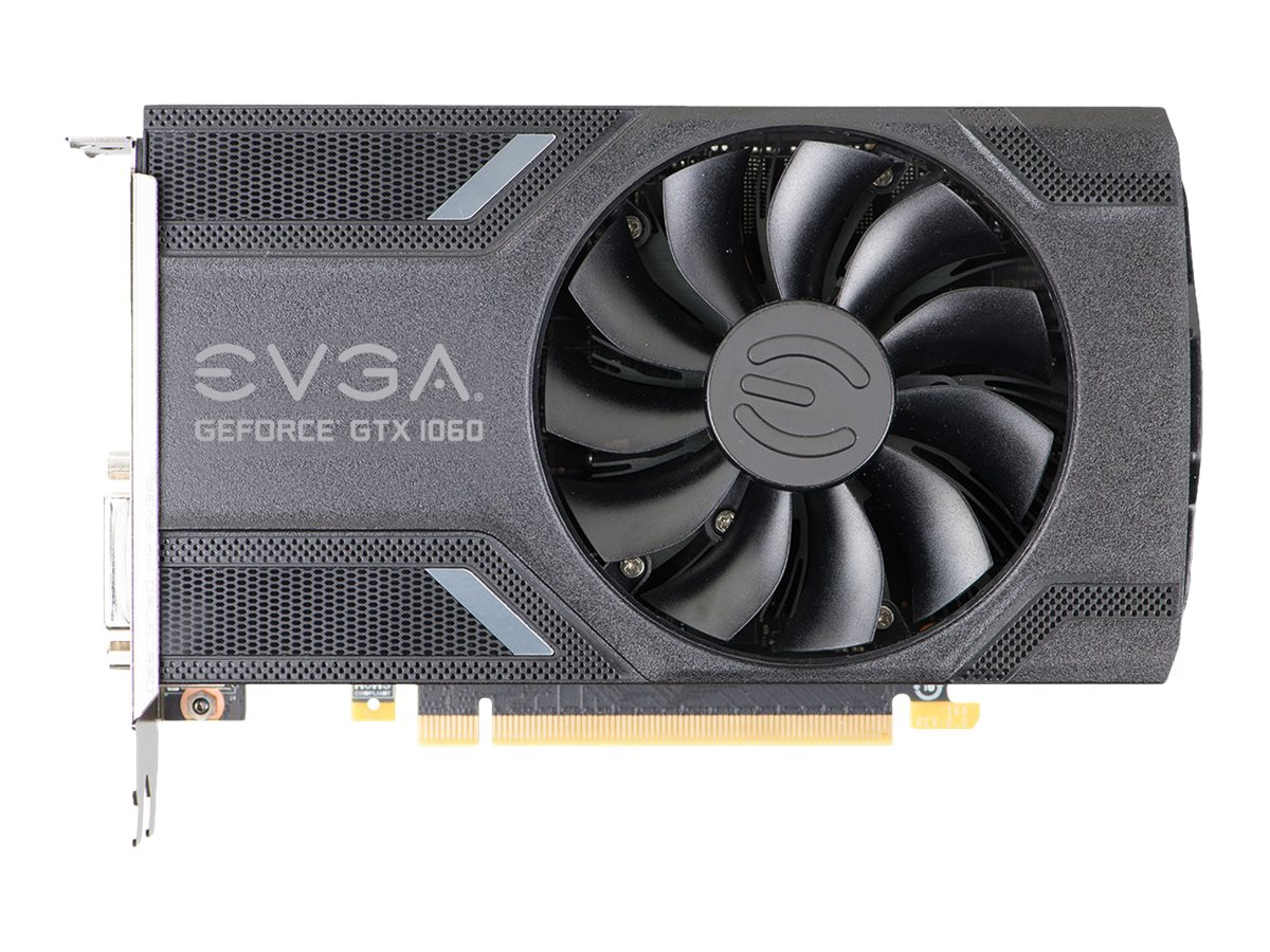 EVGA GeForce GTX 1060 Gaming - Grafikkarten - GF GTX 1060 - 3 GB GDDR5 - PCIe 3.0 x16 - DVI, HDMI, 3 x DisplayPort