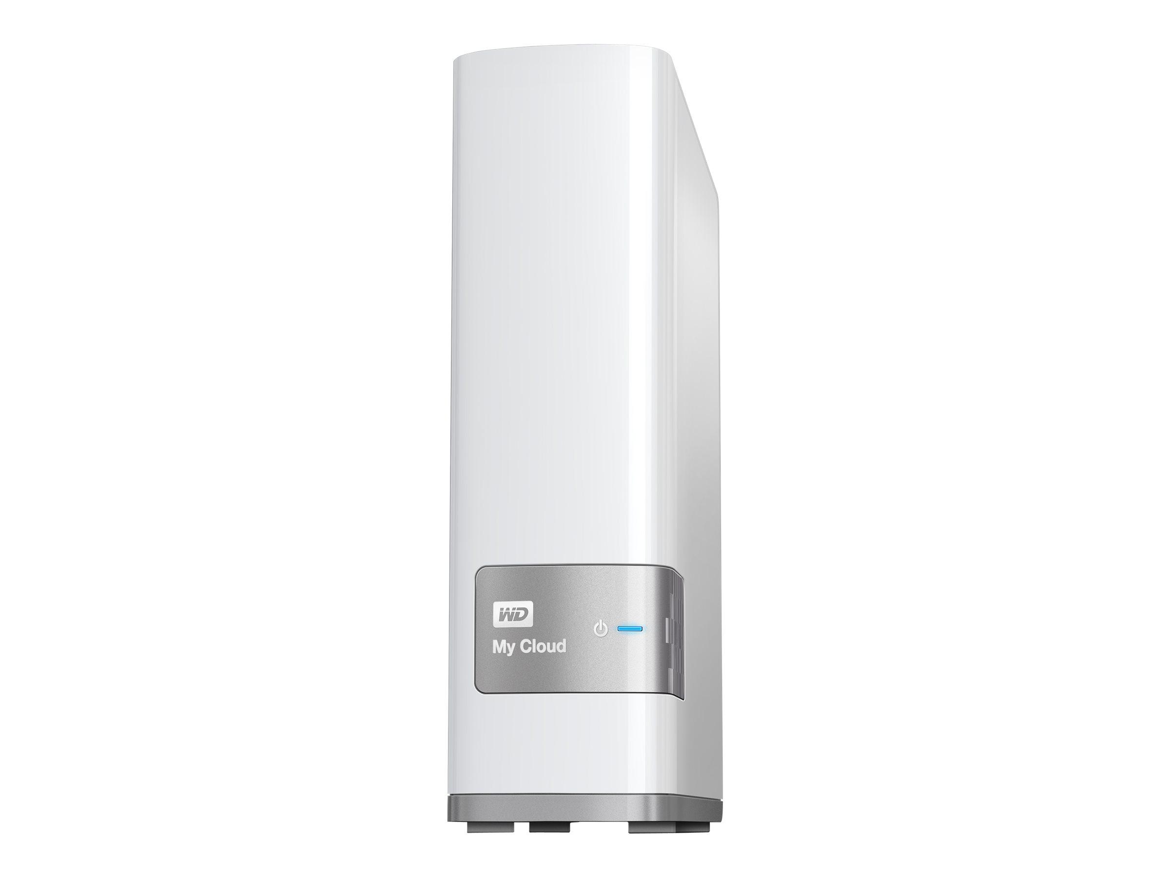 WD My Cloud WDBCTL0030HWT - NAS-Server - 3 TB - HDD 3 TB x 1 - Gigabit Ethernet