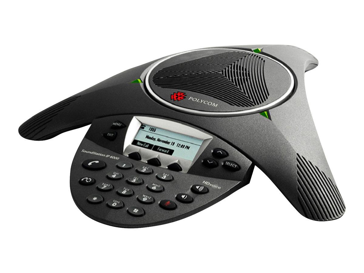 Polycom SoundStation IP 6000 - VoIP-Konferenztelefon - SIP, RTCP