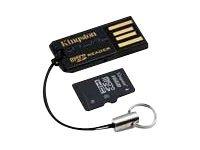 Kingston USB microSD Reader - Kartenleser (microSD, microSDHC) - USB 2.0