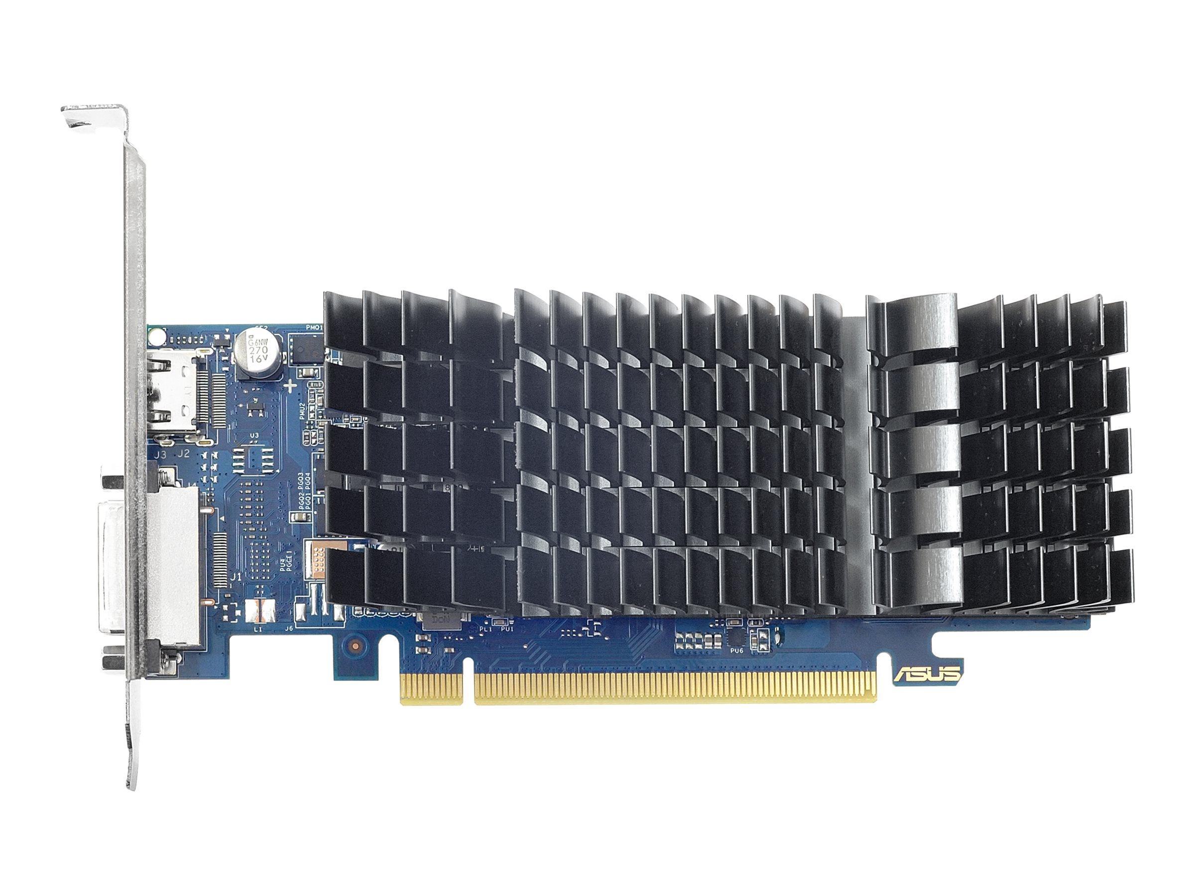 ASUS GT1030-SL-2G-BRK - Grafikkarten - GF GT 1030 - 2 GB GDDR5 - PCIe 3.0 Low-Profile - DVI, HDMI