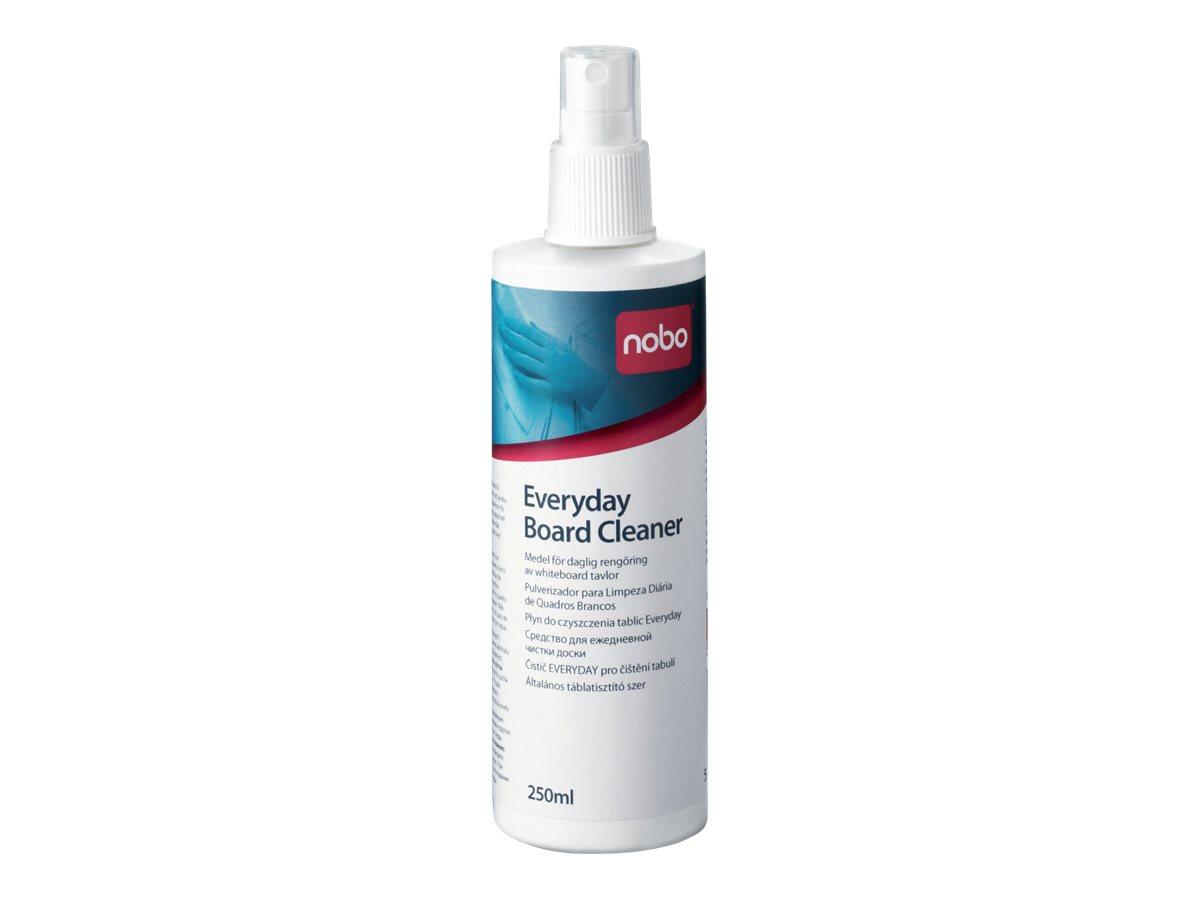 Nobo - Whiteboard-Reinigungsspray - 250 ml - für P/N: 1900930, 1901043, 1902454, 1902455, Q18090MB, QB05442CD, QBPE1812, QBPE906