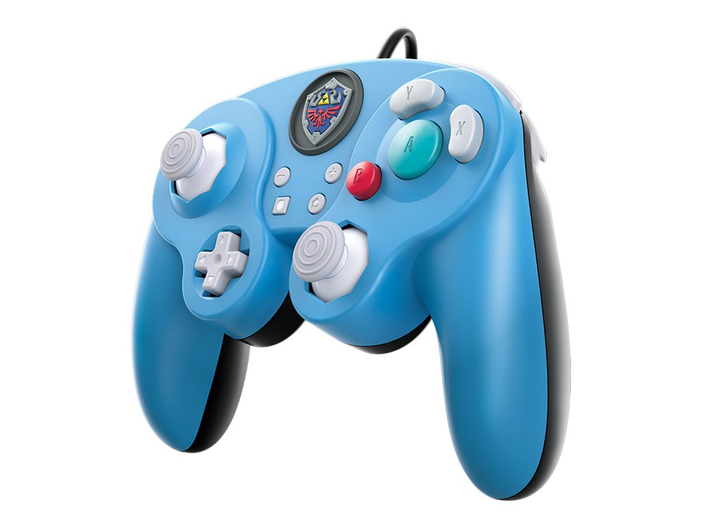 PDP Wired Smash Pad Pro - Super Smash Bros. Edition - Game Pad - kabelgebunden - Blau - für Nintendo Switch