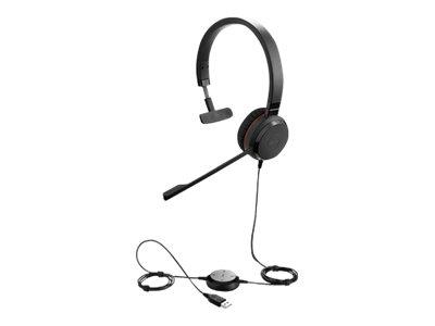 Jabra Evolve 30 MS mono - Headset - On-Ear - kabelgebunden