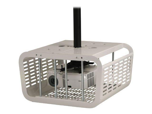 Peerless PE1120-W - Montagekomponente (Diebstahlschutzgehäuse) für Projektor - Stahl - weiss - Deckenmontage