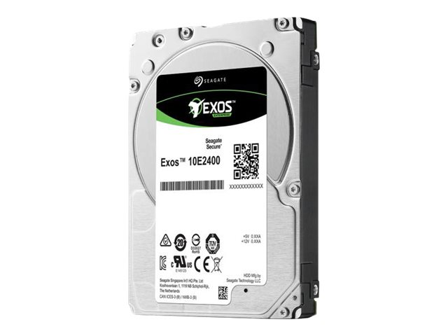 Seagate Exos 10E2400 ST1800MM0149 - Hybrid-Festplatte - 1.8 TB (16 GB Flash) - intern - 2.5