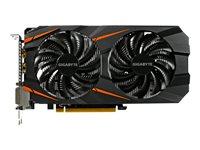 Gigabyte GeForce GTX 1060 WINDFORCE OC 3G - Grafikkarten - GF GTX 1060 - 3 GB GDDR5 - PCIe 3.0 x16 - 2 x DVI, HDMI, DisplayPort