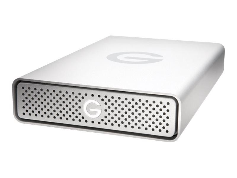 G-Technology G-DRIVE USB-C GDREUCEB80001ADB - Festplatte - 8 TB - extern (Stationär) - USB 3.1 (USB-C Steckverbinder) - 5400 rpm