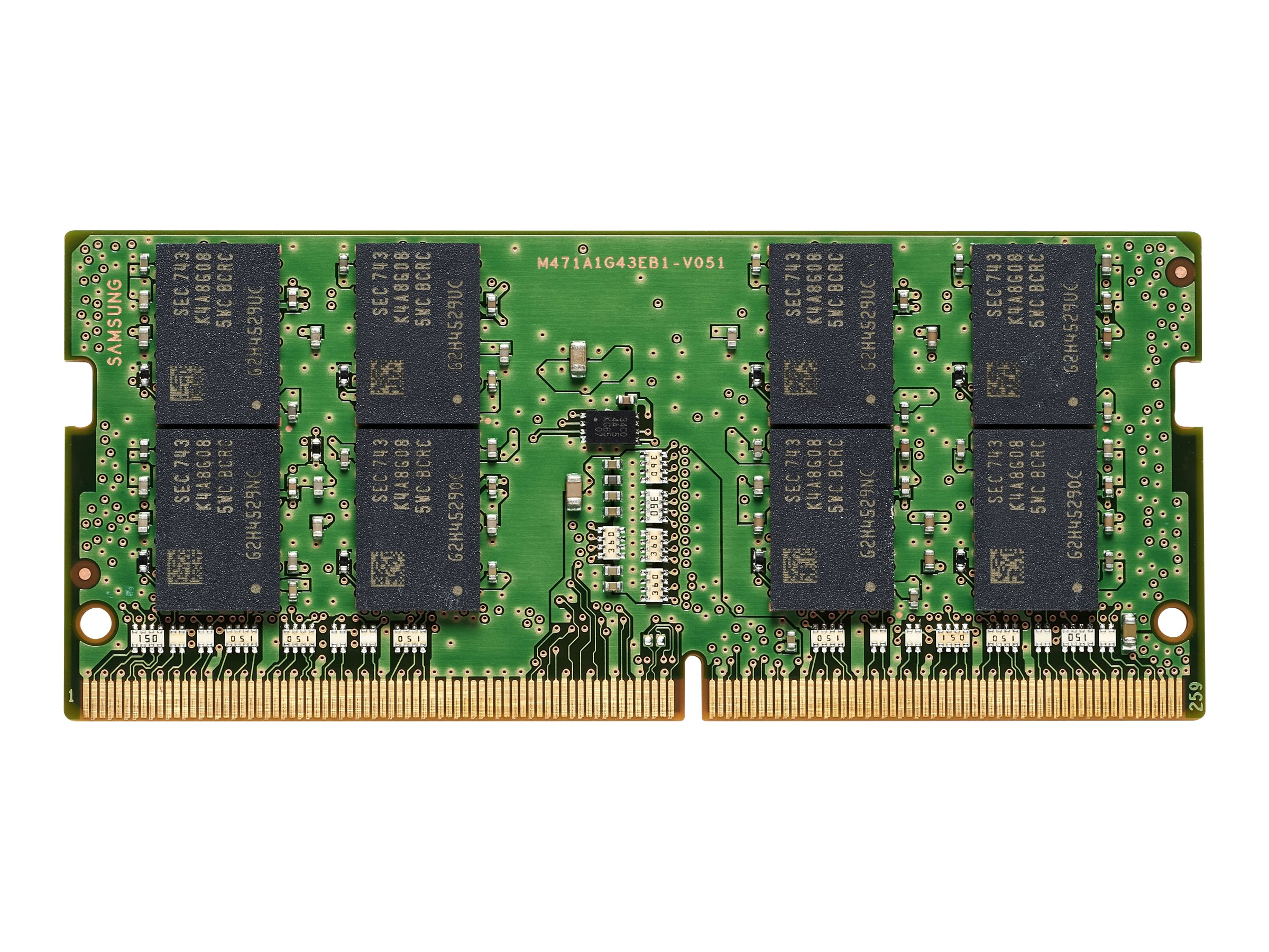 HP - DDR4 - Modul - 16 GB - SO DIMM 260-PIN - 3200 MHz / PC4-25600
