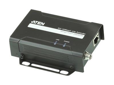 ATEN VanCryst VE601 DVI HDBaseT-Lite Extender, Transmitter and Receiver - Video Extender - bis zu 70 m