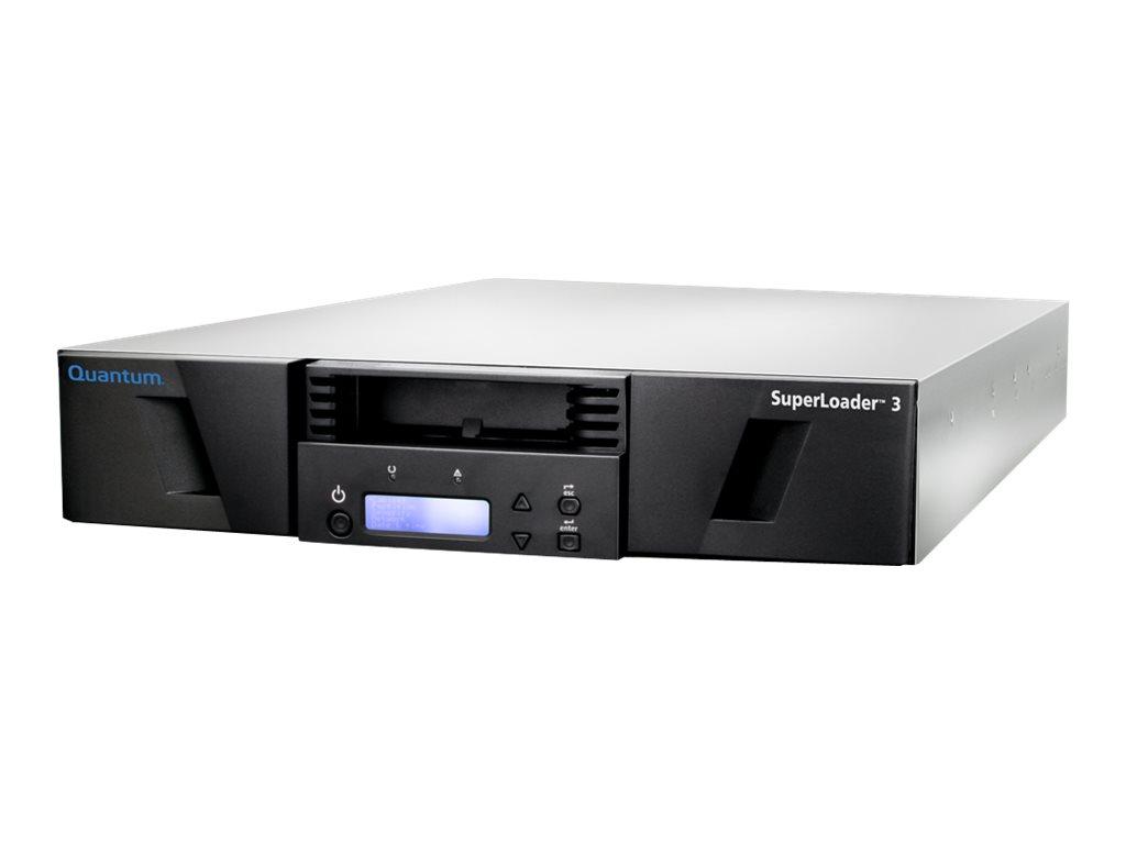 Quantum SuperLoader 3 with (Model C) drive(s) - Tape Autoloader - 48 TB / 120 TB - Steckplätze: 8 - LTO Ultrium (6 TB / 15 TB) -