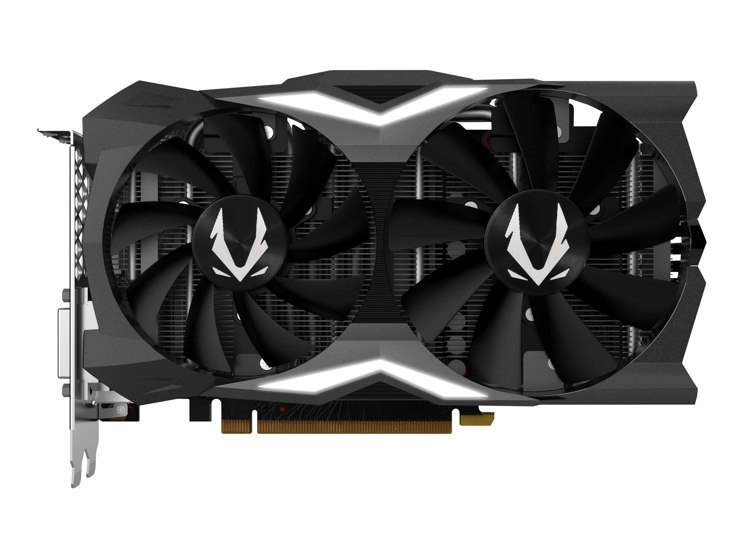 ZOTAC GAMING GeForce RTX 2070 MINI - Grafikkarten - GF RTX 2070 - 8 GB GDDR6 - PCIe 3.0 x16 - DVI, HDMI, 3 x DisplayPort
