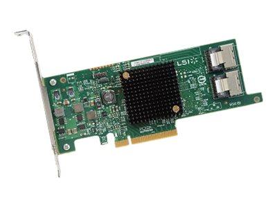 LSI SAS 9300-8e - Speicher-Controller - SAS 12Gb/s - für PowerEdge R220, T20, T320; PowerVault MD3460, MD3860; Storage SCv2000,