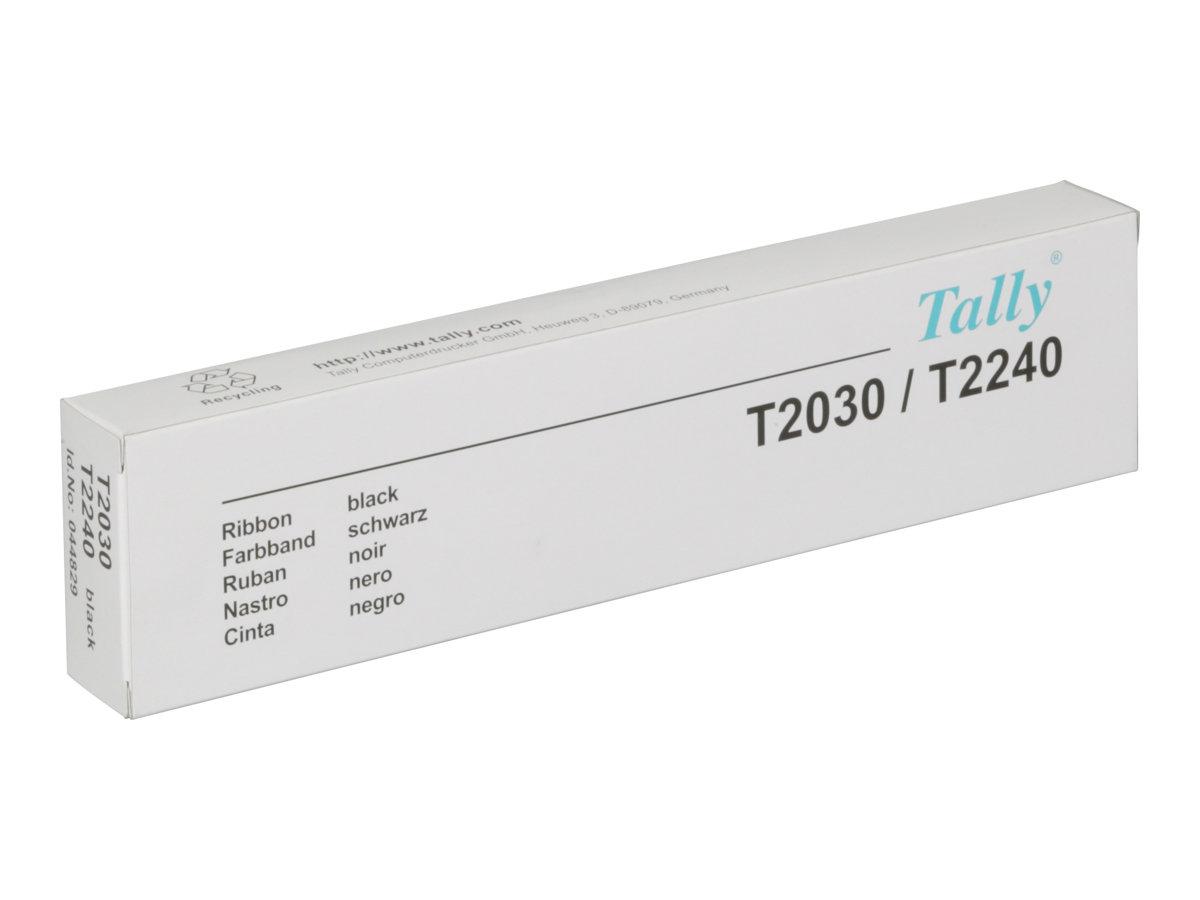 TallyGenicom - Schwarz - Farbband - für Tally T2240, T2240/24, T2240/9; Serial Matrix T2030