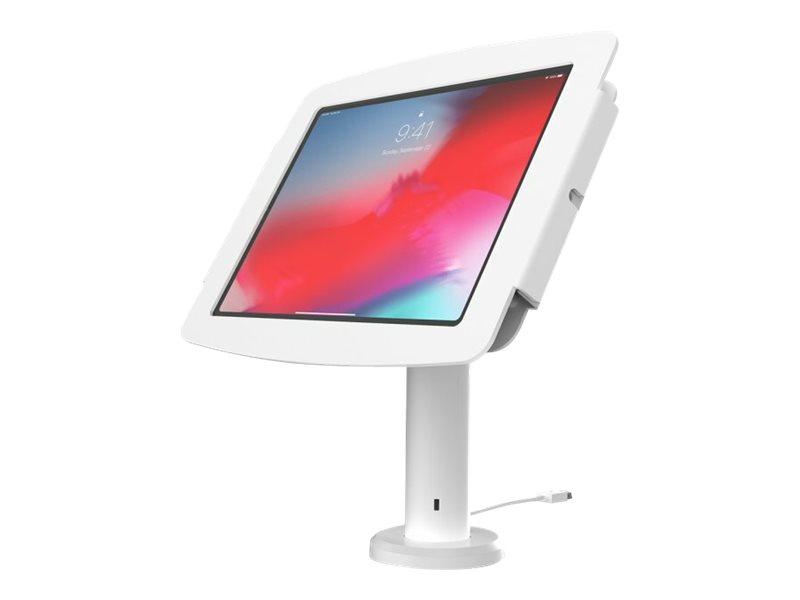 Compulocks Space Rise iPad Enclosure Kiosk Low-Rise - Befestigungskit (Gehäuse, pole stand) - für Tablett - verriegelbar - hochw