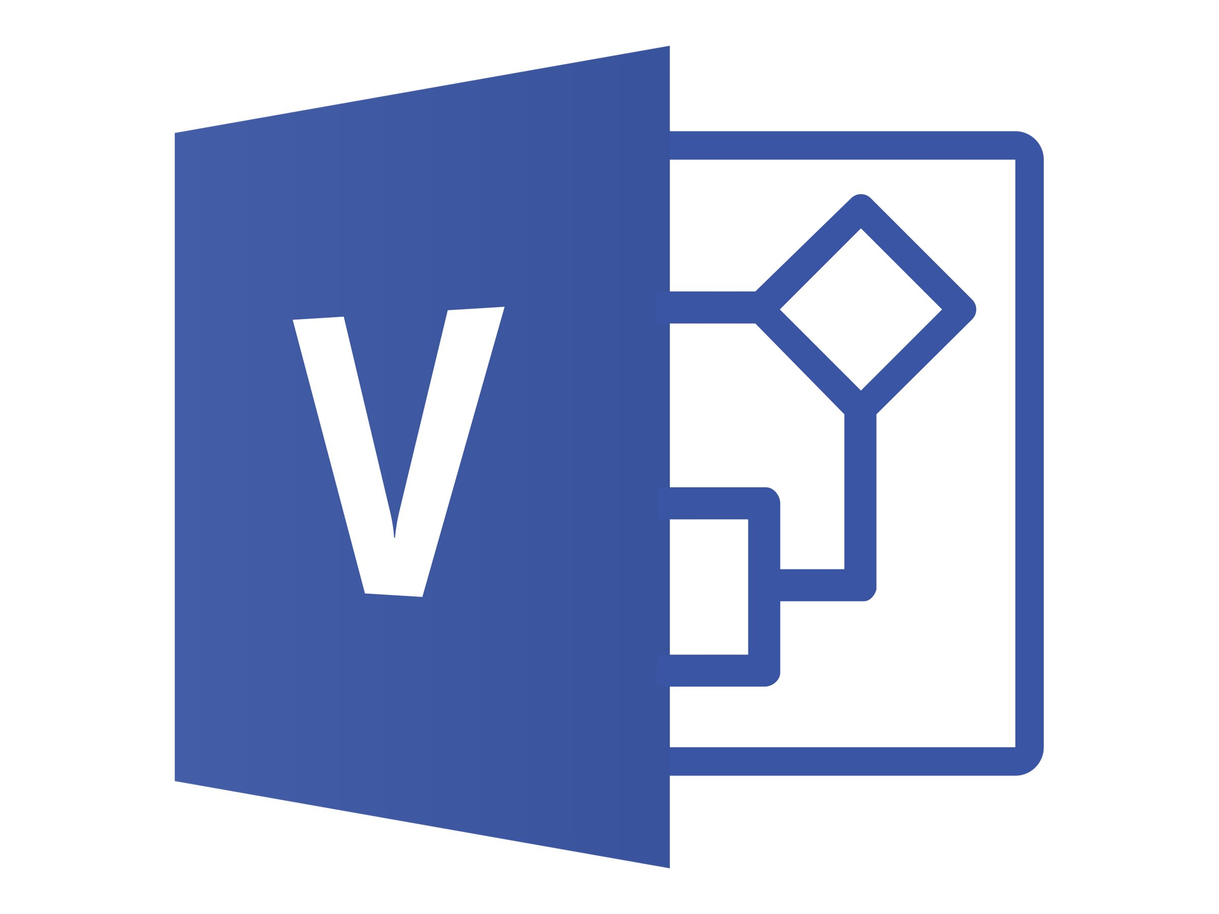 Microsoft Visio Standard 2019 - Lizenz - 1 PC - Download - ESD - National Retail, Click-to-Run
