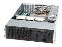 Supermicro SC835 TQ-R800B - Rack - einbaufähig - 3U - Erweitertes ATX - SATA/SAS