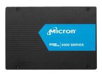 Micron 9300 MAX - Solid-State-Disk - 12.8 TB - intern - U.2 PCIe (NVMe)