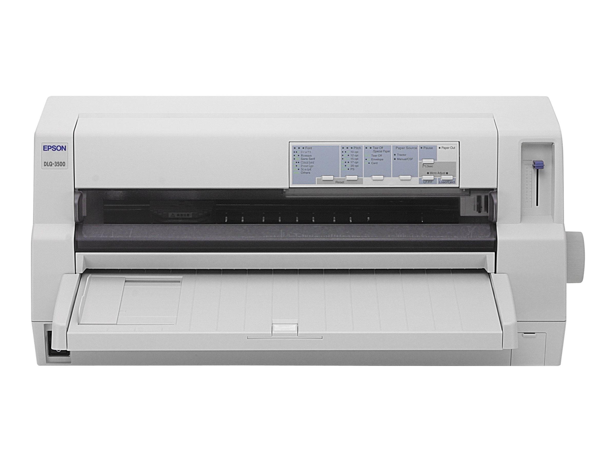 Epson DLQ 3500 - Drucker - Farbe - Punktmatrix - 406 x 559 mm, 420 x 420 mm - 24 Pin