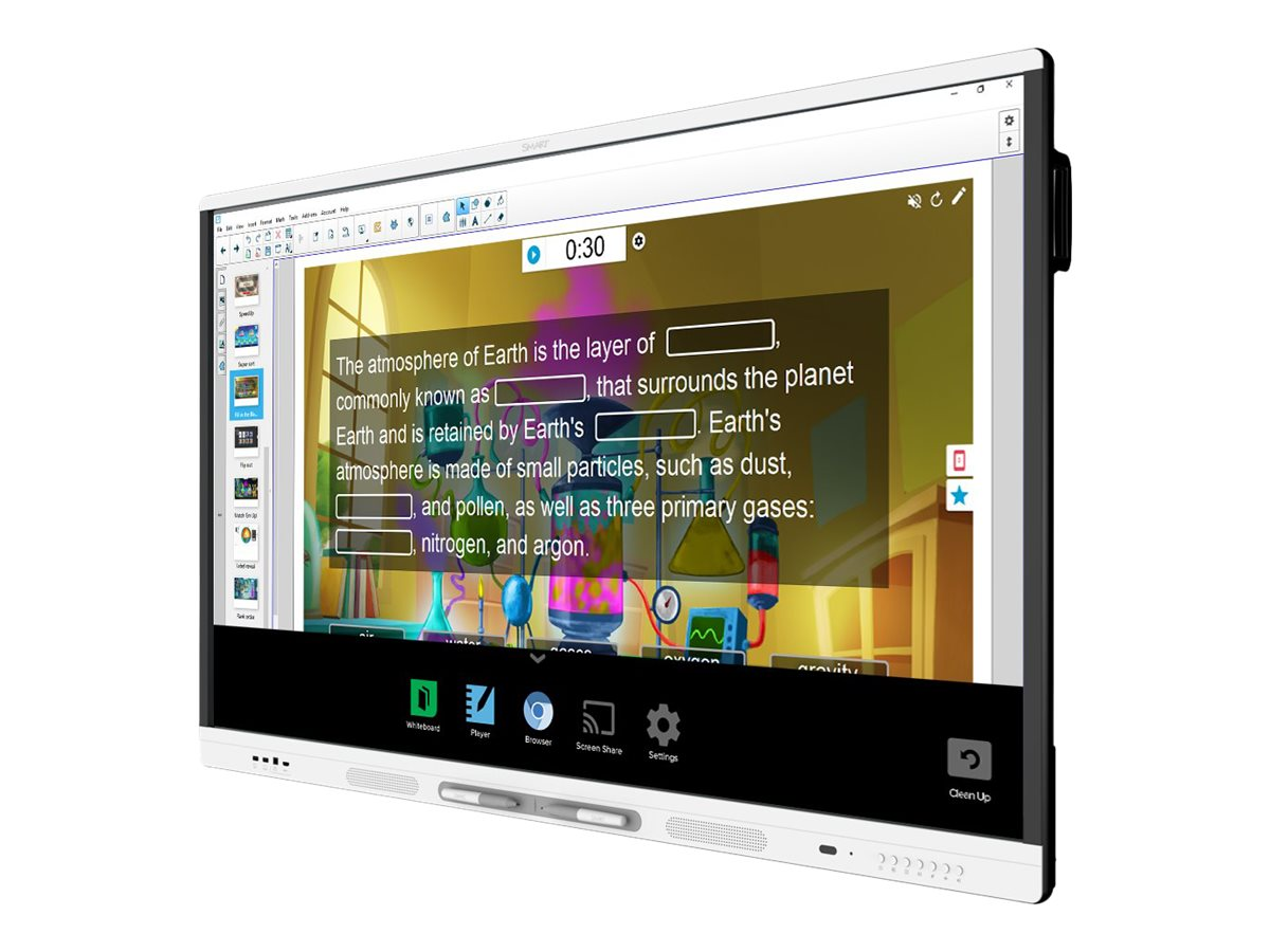 SMART Board MX265 Interactive Display with iQ SBID-MX265 - 165.1 cm (65