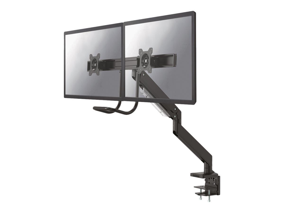NewStar NeoMounts NM-D775DXBLACK - Tischhalterung (einstellbarer Arm) - Schwarz - Bildschirmgrösse: 25.4-81.3 cm (10