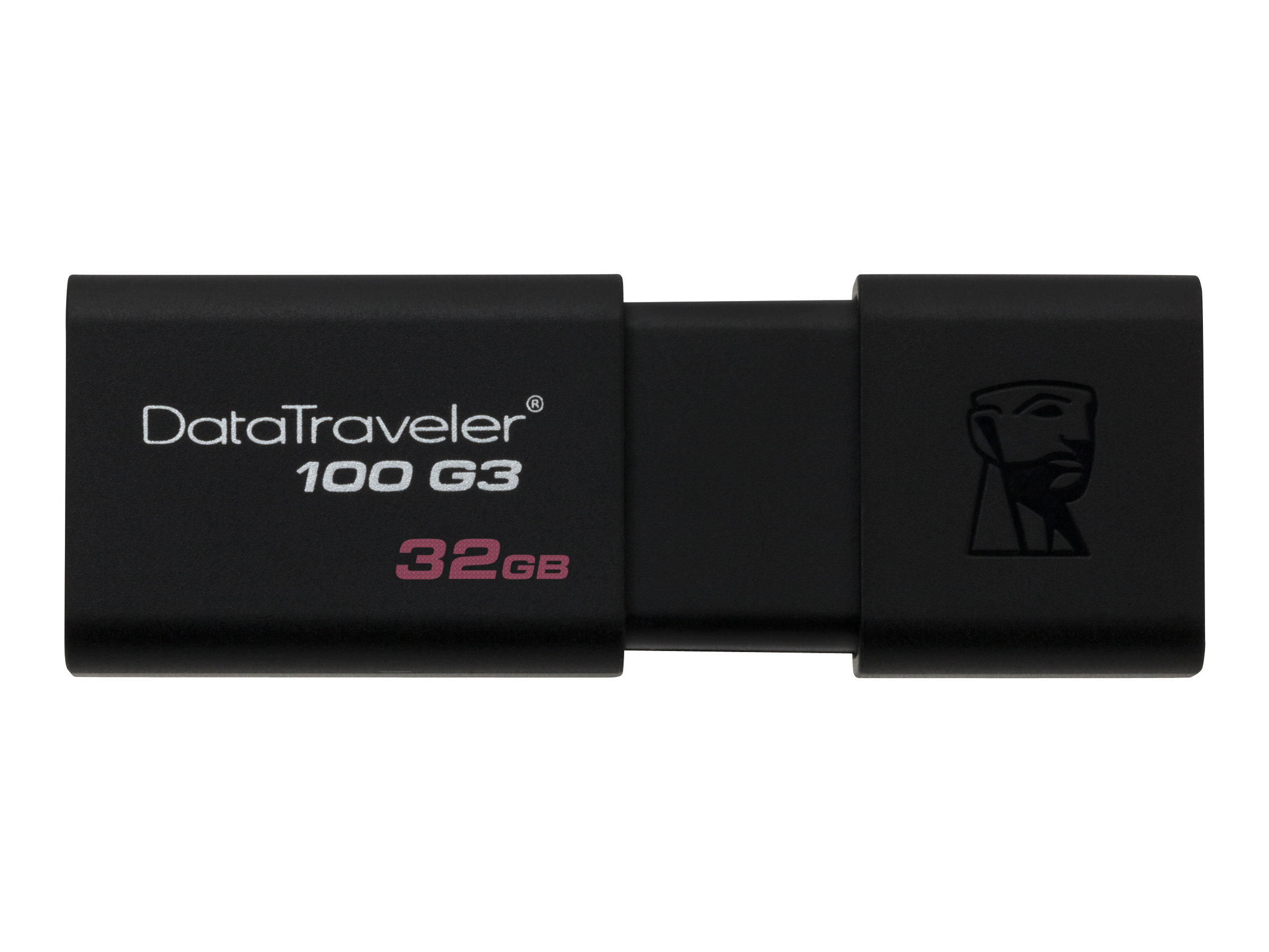 Kingston DataTraveler 100 G3 - USB-Flash-Laufwerk - 32 GB - USB 3.0 - Schwarz