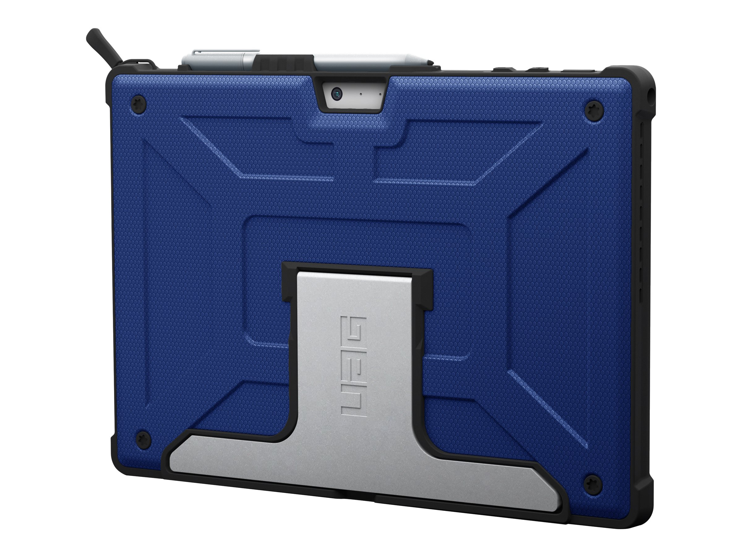 UAG Rugged Case for Surface Pro 7+/7/6/5/LTE/4 - Metropolis Cobalt - Tasche für Tablet - Kobalt - für Microsoft Surface Pro (Mit