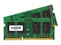 Crucial - DDR3L - 4 GB: 2 x 2 GB - SO DIMM 204-PIN - 1600 MHz / PC3-12800 - CL11