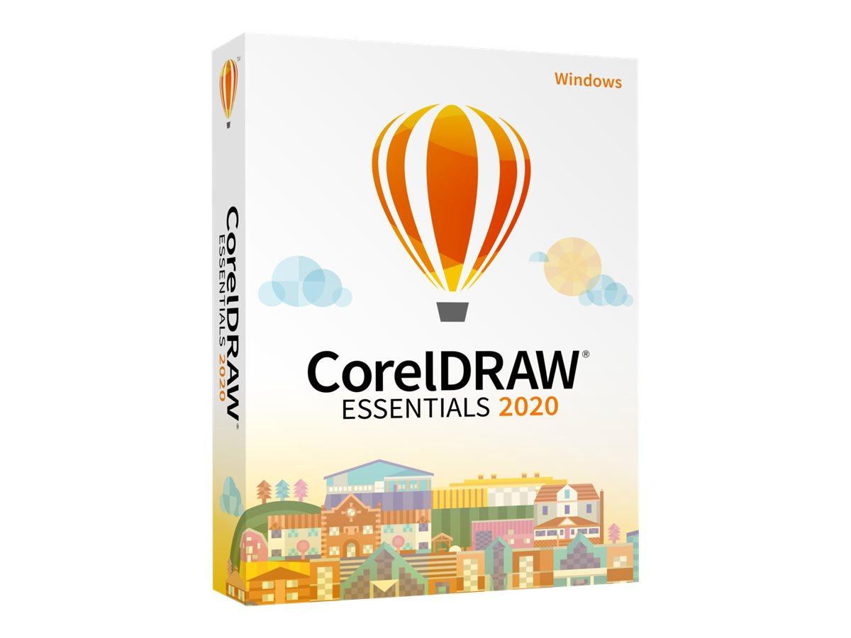 CorelDRAW Essentials 2020 - Box-Pack - 1 Benutzer - DVD - Win - Englisch
