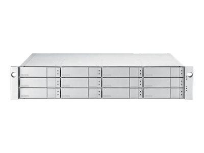 Promise VTrak J5300sD - Festplatten-Array - 120 TB - 12 Schächte (SATA-600 / SAS-3) - HDD 10 TB x 12 - SAS 12Gb/s (extern)