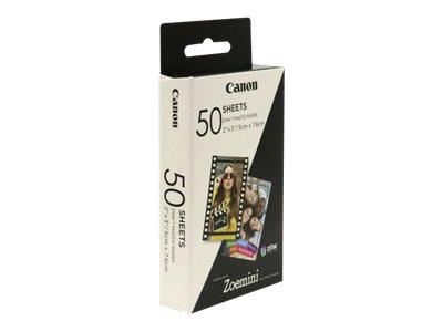 Canon ZINK - Selbstklebend - 50 x 76 mm 50 Rolle(n) Fotopapier - für Canon Zoemini; ivy CLIQ+2, CLIQ2; Zoemini C, S