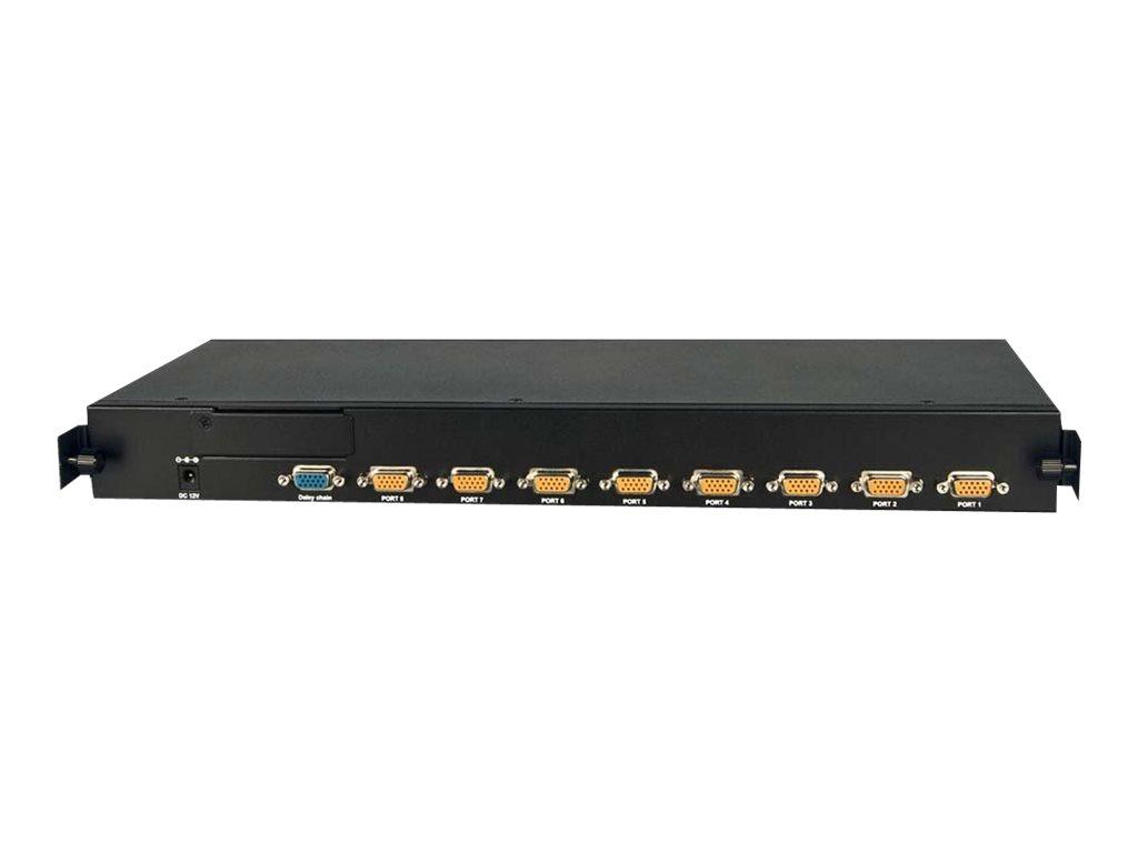 Lindy U8C Modular - KVM-Switch - 8 x KVM port(s) - 1 lokaler Benutzer - an Rack montierbar