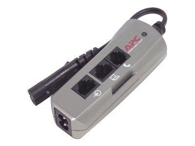 APC SurgeArrest Notebook Pro - Überspannungsschutz - Wechselstrom 230 V - Ausgangsanschlüsse: 1 - Silber